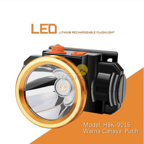 Foto Produk Senter Led Kepala Headlamp Charge 15W dari MTEshop
