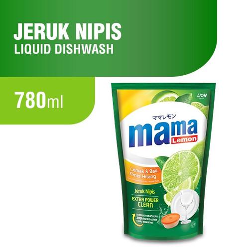 Foto Produk Mama Lemon Dishwashing Pouch 780 ml dari 3NStor3