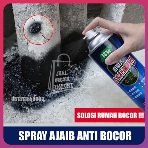 Foto Produk ORIGINAL Spray Anti Bocor Tahan Air - Waterproof Leak Stop Spray Seal - Putih dari Jual Grosir Import