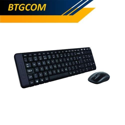 Foto Produk Logitech MK220 Wireless Combo Keyboard Mouse Bundle dari BTGCOM