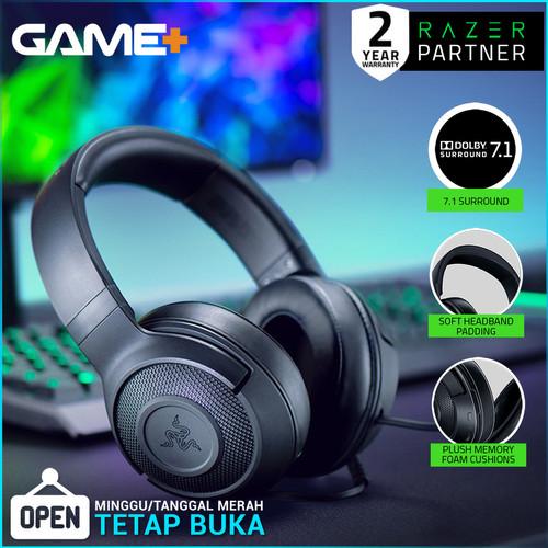Foto Produk Razer Kraken X - Black Multi-Platform Wired Gaming Headset dari GamePlus