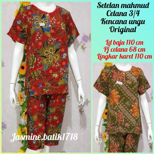 Foto Produk SETELAN CELANA 3/4 KENCANA UNGU KUM dari jasmine.batik1718