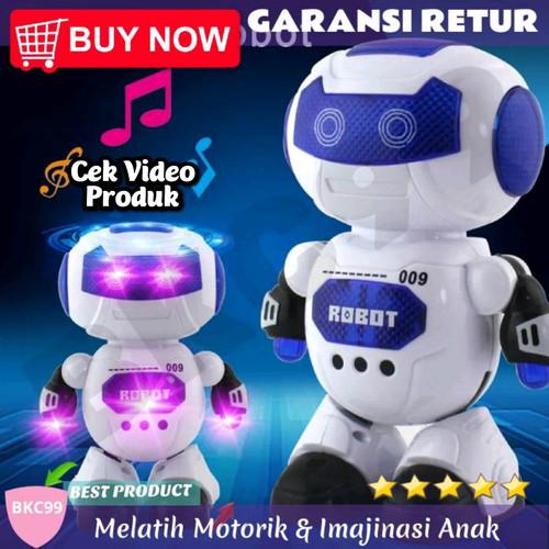 Foto Produk A66 Mainan Anak Laki Laki Robot Robotan Joget Dance Hero Hadiah Murah dari BKC99