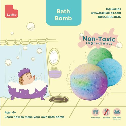 Foto Produk Mainan Edukasi Anak - Bath Bomb dari LogikaKids