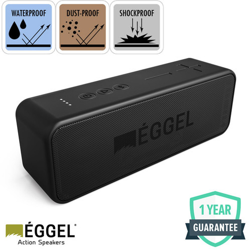 Foto Produk Eggel Active 2 Waterproof Action Portable Bluetooth Speaker dari EGGEL Official Store