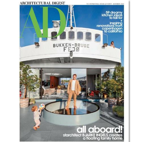 Foto Produk Majalah Import ARCHITECTURAL DIGEST nov 2020 dari Toko Buku Shakira