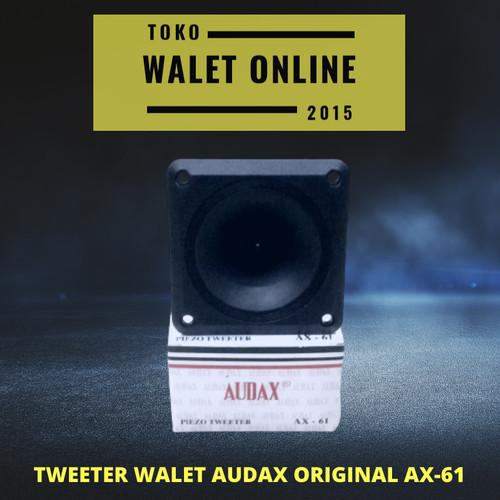 Foto Produk TWEETER WALET AUDAX AX 61 SATUAN ORIGINAL SPEAKER PANGGIL TARIK INAP dari Toko Walet Online