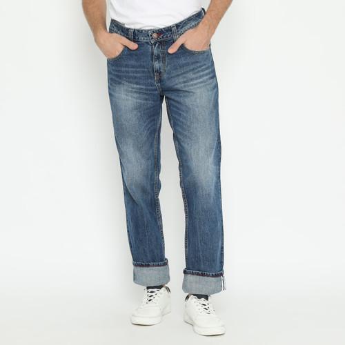 Foto Produk Papperdine 886 FW20 M.Indigo Celana Panjang Jeans Pria Denim Selvedge - 38 dari Papperdine Jeans
