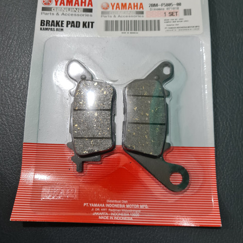 Foto Produk Kampas Rem Cakram Disk Dispad Depan Mio M3 Z New Soul GT N Max 2BM 2PH dari Markas sparepart murah