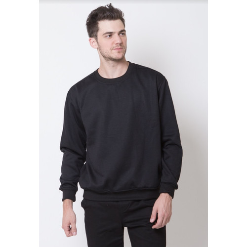 Foto Produk Basic Sweater Series (Hitam) - L dari Arsenio Apparel Store