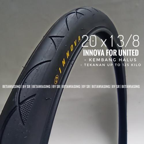 Foto Produk Ban Luar Sepeda 20 x 1 3/8 Ban INNOVA UNITED 451 Ban Sepeda Lipat dari BETAWIASING