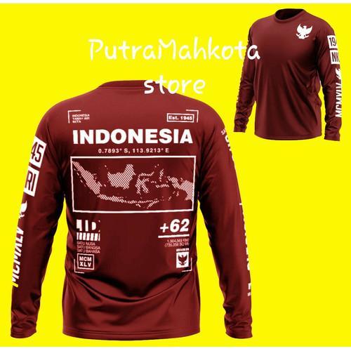 Foto Produk Kaos Indonesia Series - Maron, L dari PutraMahkota store