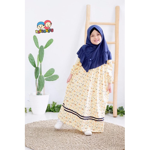 Foto Produk Gamis Kaos Anak Raggakids RG-48 dari kedai berkah