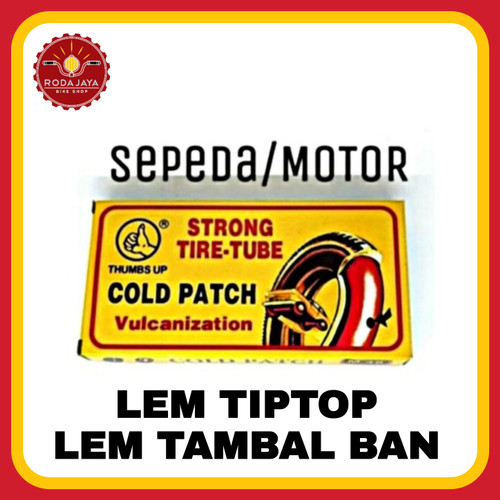 Foto Produk lem tip top/ lem karet tambal ban dalam sepeda - M dari Rodajaya Olshop