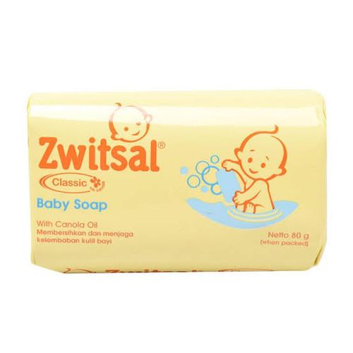 Foto Produk zwitsal baby bar soap 80gr - Classic dari TOKO ABDURROHMANI
