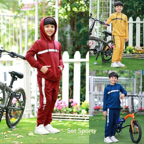 Foto Produk Setelan Anak Laki-laki Set Sporty by NuBintang dari kedai berkah