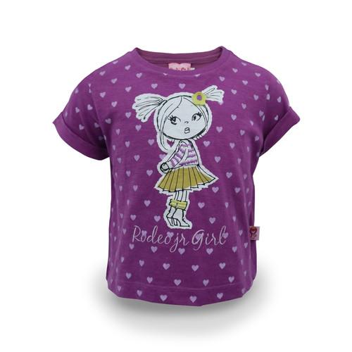 Foto Produk Rodeo Junior Girl - Tshirt Anak Perempuan - YUi - Kuning, 6 dari Rodeo Junior