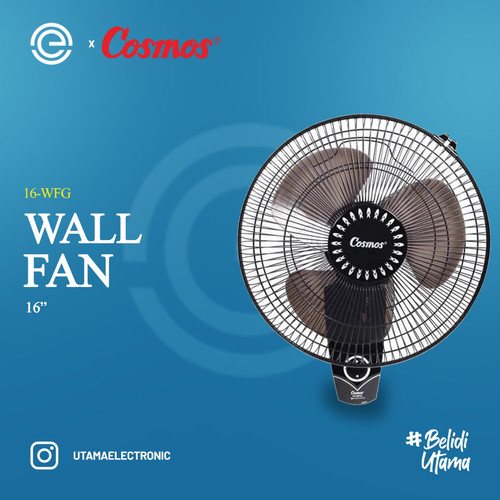 Foto Produk COSMOS Kipas Angin Dinding 16 Inch - 16-WFG dari UTAMA_ELECTRONIC