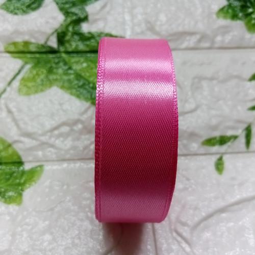Foto Produk Pita Satin 1 Inch (2,5cm) warna kedua per roll - 24. Fanta Muda dari Kutique Craft