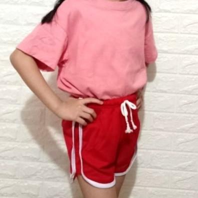 Foto Produk celana pendek anak perempuan, hotpant babyterry - Putih dari LG-MODE