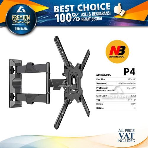 """Foto Produk Bracket TV Monitor LED LCD North Bayou NB P4 NBP4 13""""-47"""" Tilt Swivel dari Abditama Official"""