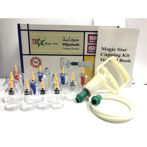 Foto Produk MagicStar Alat Bekam isi 12 / Kop Angin / Hijamah Cupping Therapy dari Yulia Putri Grosir Murah