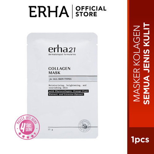 Foto Produk erha21 Collagen Mask 1 piece dari Erha Official Store