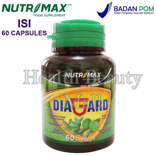 Foto Produk Nutrimax Diagard 60 Caps - Vitamin Penurun Gula Darah - Diabetes dari Health Beauty Mall
