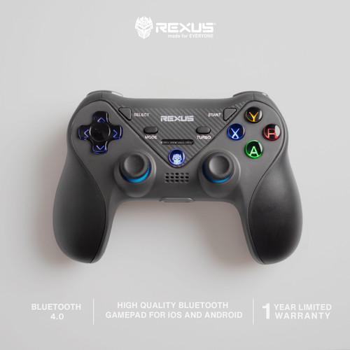 Foto Produk Rexus Pro Gaming Wireless Bluetooth Gamepad Gladius GX200 With Holder dari Rexus Official Store