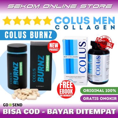 Foto Produk COLUS Men Collagen Suplemen Pria - COLUS COLLAGEN dari SEKOM ONLINE STORE