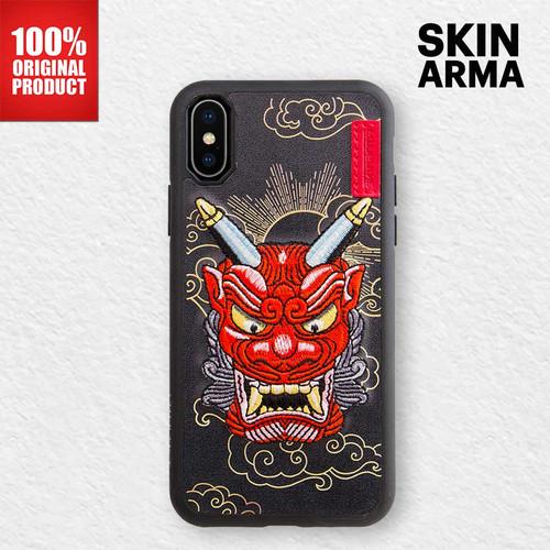 Foto Produk Skinarma Casing iPhone XR - Yokai Leather Case - Akki Red dari PlayWorks Official Store