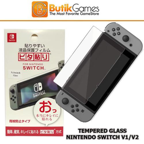 Foto Produk Anti Gores Switch Nintendo Tempered Glass Premium dari Butikgames