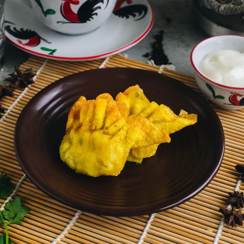 Foto Produk Pangsit Udang Goreng ( frozen isi 6 ) dari DIMSUM TUAN JIE