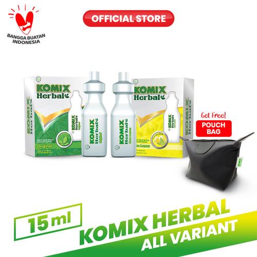 Foto Produk Komix Herbal Tube Lemon & Original FREE Pouch dari Bintang Toedjoe Official