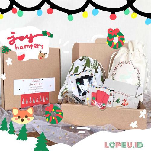 Foto Produk Lopeu Hampers Natal 2020 | Christmas Edition | JOY | Kado Natal - Joy 2 straps dari Lopeu Indonesia