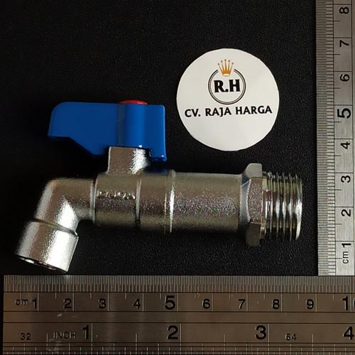 Foto Produk Kran Besi Tembok Onda BC 1/2 dari CV RAJA HARGA