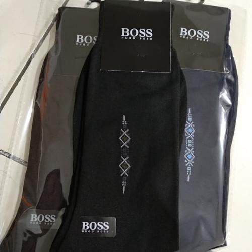 Foto Produk kaos kaki kerja formal pria dewasa merk boss - Hitam dari Mysocksjakarta