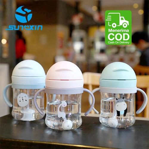 Foto Produk Botol Minum Bayi Gelas Anak Balita 270ML Training Cup Baby BPA Free - Hijau dari SUNXIN