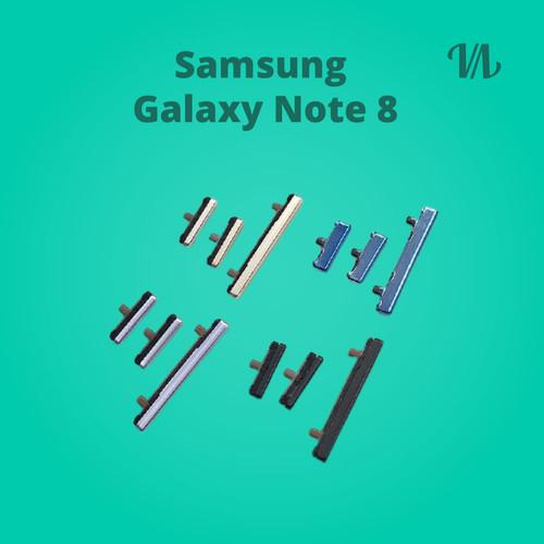 Foto Produk Tombol Power On Off Volume Bixby Samsung Galaxy Note 8 - Midnight Black, 1 Set dari Binary-Shop