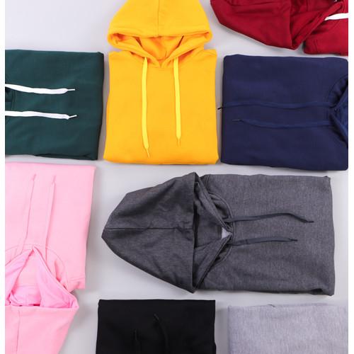 Foto Produk Hoodie Pullover Series - Abu Muda, M dari Arsenio Apparel Store
