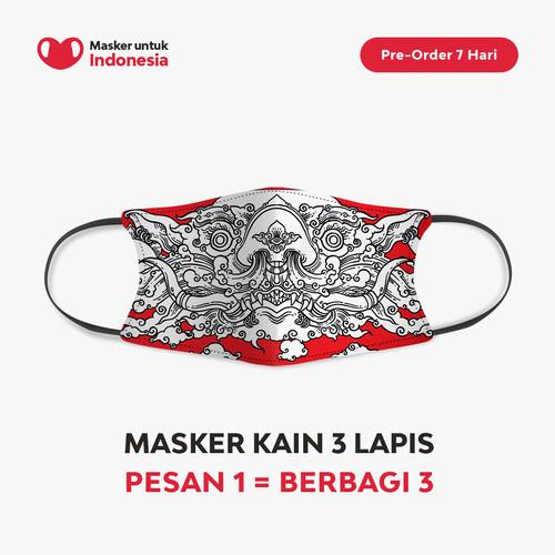 Foto Produk Sweta Kartika x Masker untuk Indonesia dari Masker untuk Indonesia