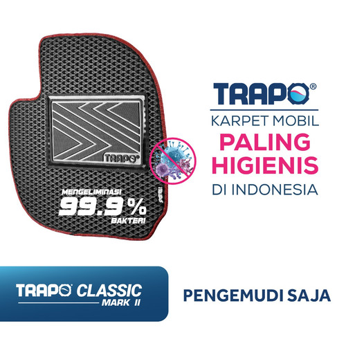 Foto Produk Karpet Mobil Eva Trapo Bagian Pengemudi Saja - One Seater Car Mat dari Trapo Indonesia