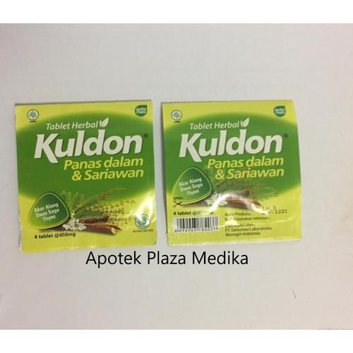 Foto Produk Kuldon Tablet - Sariawan, Panas Dalam, Tenggorokan Kering, Bau Mulut dari Plaza Medika
