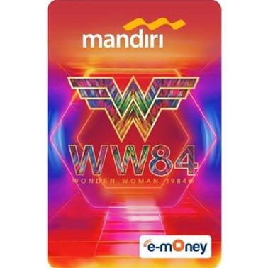 Foto Produk Mandiri E-Money Special Edition Wonderwoman 84 Logo dari Mandiri E-Store