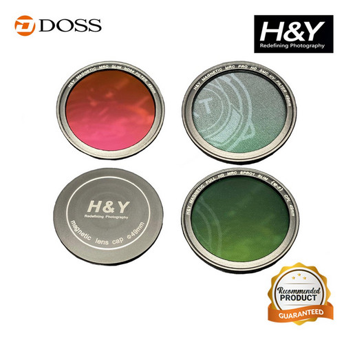 Foto Produk H&Y Filter Kit for SONY ZV-1 / H&Y Magnetic Circular Filter Kit dari DOSS