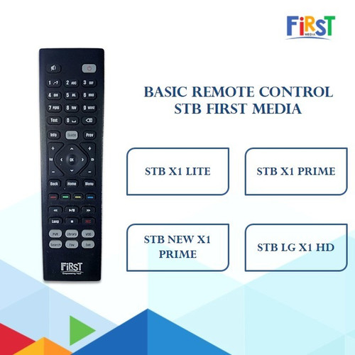 Foto Produk Remote First media: Basic Remote STB / Smart Box First Media dari First Media Store
