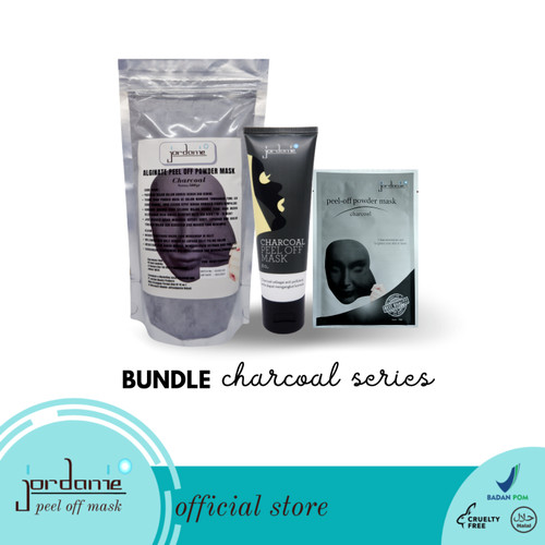 Foto Produk Bundle Jordanie Peel Off Mask Charcoal Series dari Jordanie