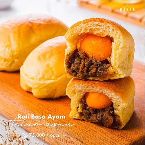 Foto Produk Roti baso ayam telur asin dari Kaylabakery2020