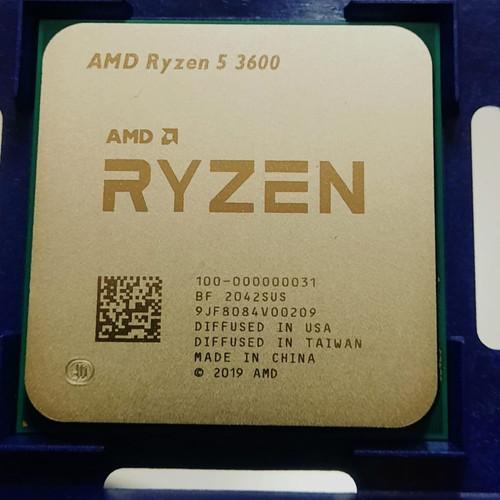 Foto Produk AMD Ryzen 5 3600 (TRAY) 3.6Ghz Up To 4.2Ghz (no box no fan) dari Aura Com
