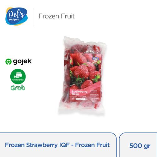Foto Produk Frozen Strawberry IQF - Frozen Fruit Firestone USA 500gr dari Delsrecipes by Delisari